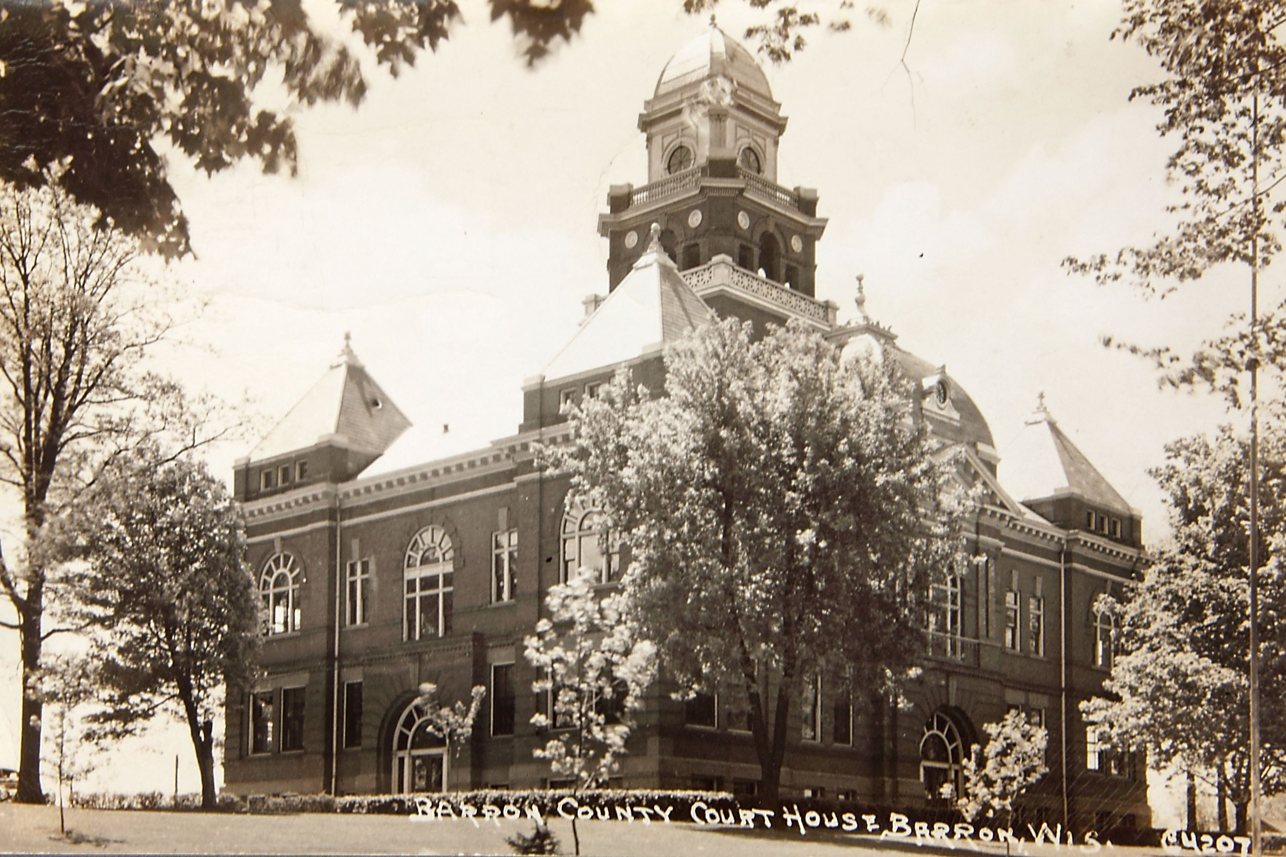 Vintage Barron - Barron County Courthouse